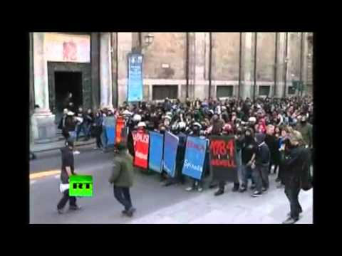 Riots and Protests Around the World - Greece, Egypt, England and Italy - Revolution!