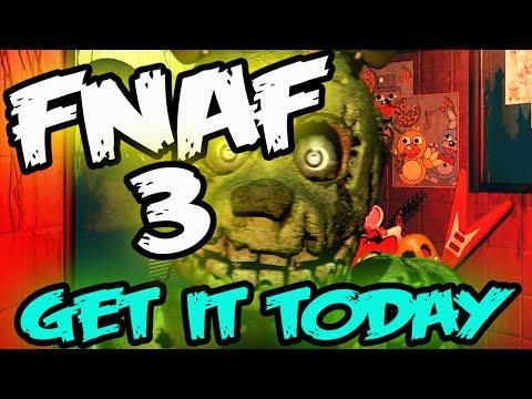 FNAF 3 RELEASED | GET IT NOW | Five Nights at Freddy's 3 Download Full Game | FNAF 3 Download