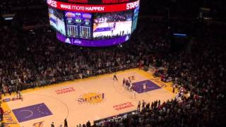 Jose Calderon Game-Winning Three Against Lakers (03/13/16)
