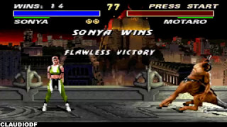 Ultimate Mortal Kombat 3 - SONYA - Very Hard (SNES)
