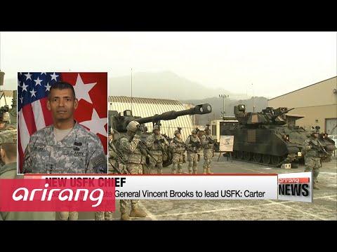 Obama to nominate General Vincent Brooks to lead USFK: Carter