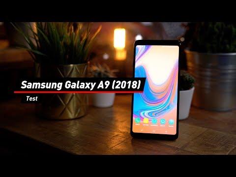 Samsung Galaxy A9 (2018): Kamera-Quartett im Test