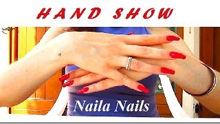 Red Nails - Hand Show