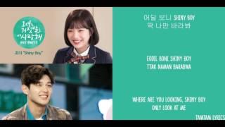 Shiny Boy - Joy Lyrics [Han,Rom,Eng] { The Liar and His Lover OST }