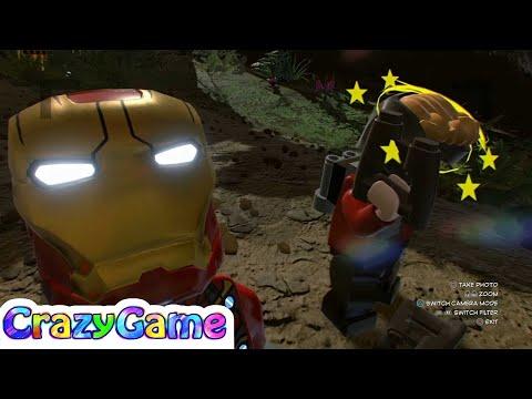 LEGO Marvel Super Heroes 2 Star Lord & Iron Man MK47 (Wakanda Free Roam)