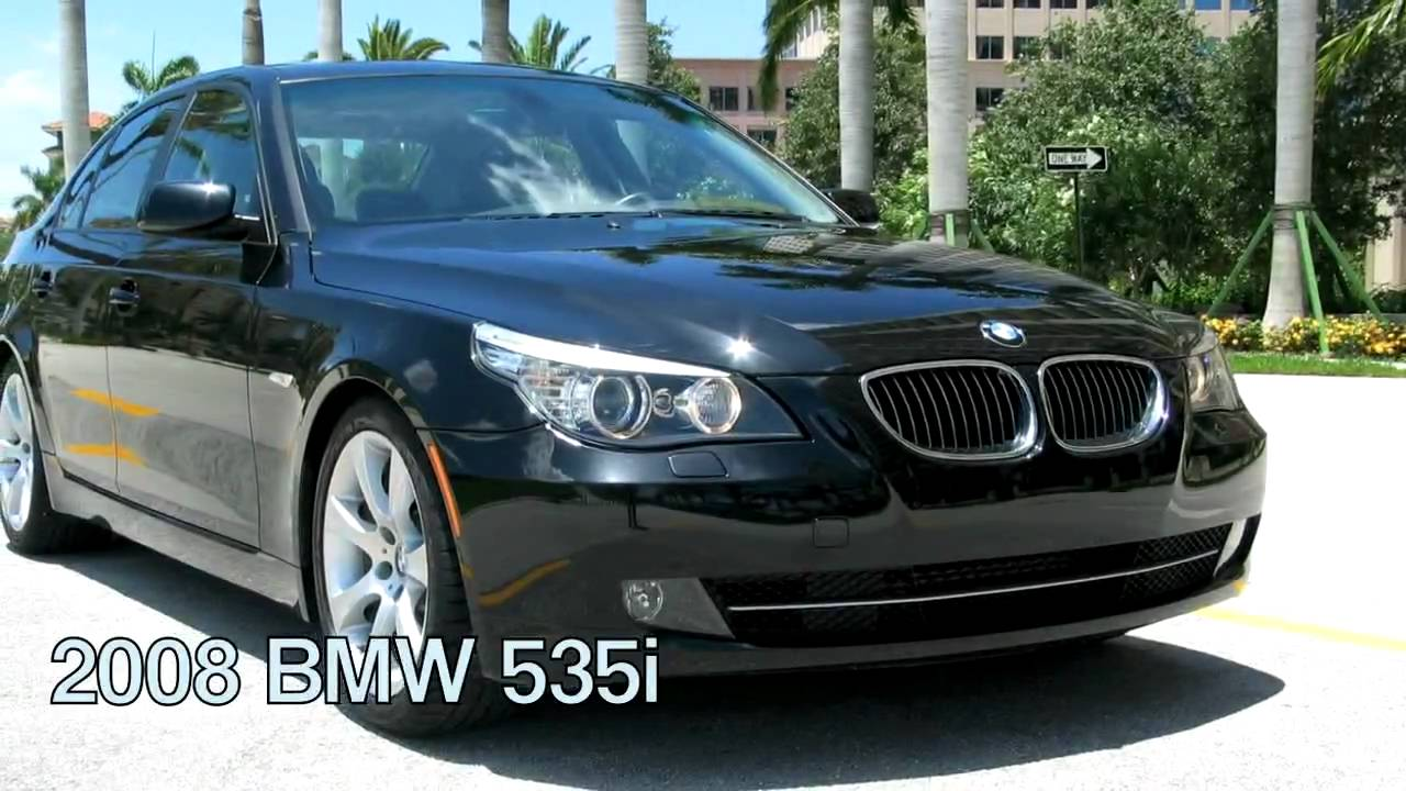 2008 bmw 535i black sapphire metallic a2339 youtube. Black Bedroom Furniture Sets. Home Design Ideas