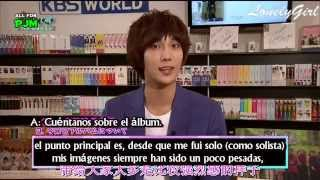 [140514] Park Jung Min - entrevista en K pop World + Save Us Tonight MV [sub español]