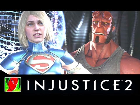 Injustice 2 - All Saddest Intro Dialogues [UPDATED]