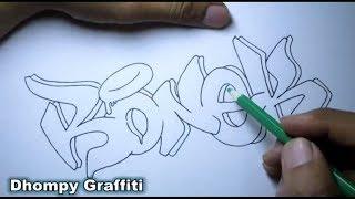 Request Graffiti Nama Abid Semoga Suka By Dhompy