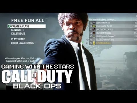 Gaming with the Stars - Samuel L. Jackson Plays Black Ops