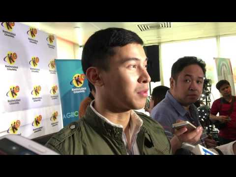 Enchong Dee talks about his career
