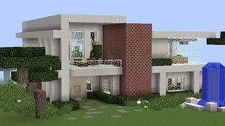 Casa de este alojamiento construir una casa xbox 360 720p for Casa moderna minecraft xbox 360