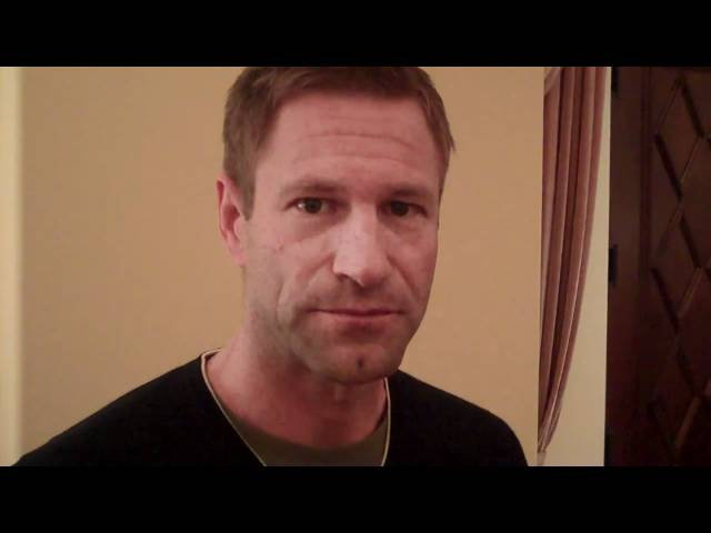 Aaron Eckhart - Which Fellow Actor Made You Raise Your Own Game?