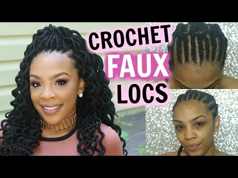 How To | CROCHET FAUX LOCS TUTORIAL & REVIEW