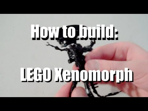 Video Game Stuff made out of LEGO: #8 Alien Xenomorph
