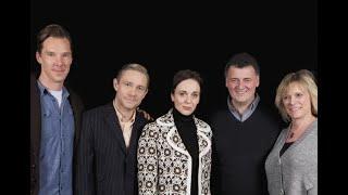 Sherlock Cast Interview with Benedictberbatch, Martin Freeman and More