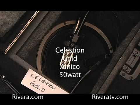 12 speakers compared 8 alnico's & 2 ceramics jensen vs blue vs gold vs scumback vs Celestion