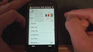 The Iris Browser (v1.1) for Windows Mobile