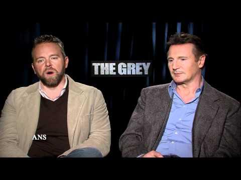 LIAM NEESON, JOE CARNAHAN - THE GREY INTERVIEW