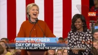 """Sarà il gran giorno di Hillary Clinton? """"Vorrei ballare come Michelle e Barack"""""""