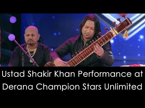 Ustad Shakir Khan Performance At  Derana Champion Stars Unlimited ( 12-08-2017 )