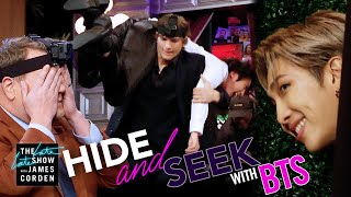Hide & Seek w/ BTS & Ashton Kutcher