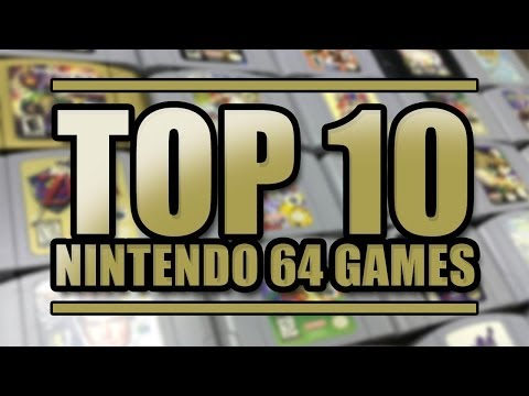 Top 10 nintendo 64 games add to ej playlist top ten nintendo 64
