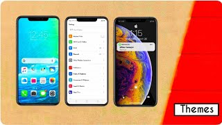 iOS 12.2 Theme For All Realme & Oppo Devices || iPhone Theme For All Colour OS Devices  ||