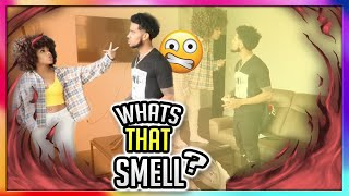 COMING HOME SMELLING LIKE ANOTHER WOMAN PRANK ON GIRLFRIEND
