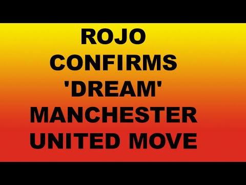 Marcos Rojo Confirms 'Dream' Manchester United Move