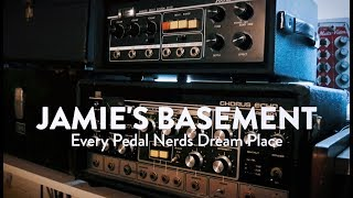 The most insane pedal collection ever! - Jamie Stillman Interview at EarthQuaker Day 2018