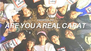 SEVENTEEN QUIZ: are you a real carat?