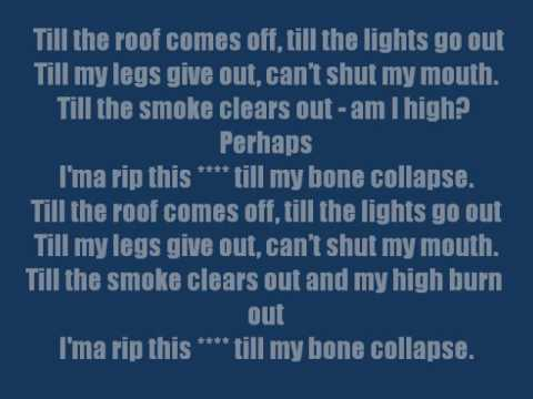 Till I Collapse-Lyrics (clean)