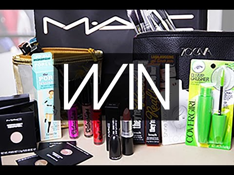 MASSIVE 100K SUBSCRIBER MAKEUP GIVEAWAY!!