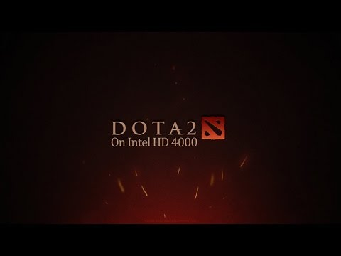 Dota 2 on Intel HD 4000