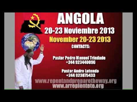 Angola Avivamiento de Arrepentimiento Viernes 22 2013