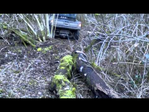 John Deere Gator Holzernte Seilwinde
