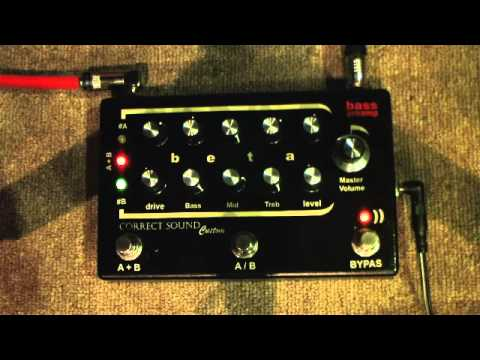 Bass preamp BETA (based on preamplifier SUNN Beta Bass)