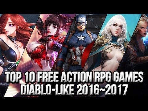 Top 10 Free Action RPG Diablo Like Games 2016~2017 | FreeMMOStation.com