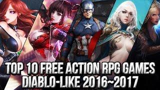 Top 10 Free Action RPG Diablo Like Games 2016~2017   FreeMMOStation.com