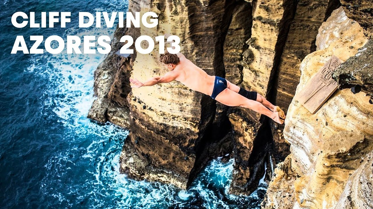 Red Bull Cliff Diving Wallpaper Azores Cliff Diving Red Bull