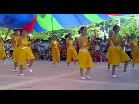 Dân vũ Chú ếch con-THCS Vạn Sơn