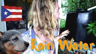 Setting up a Rain Collection System in Puerto Rico || Vlog # 228 of 365