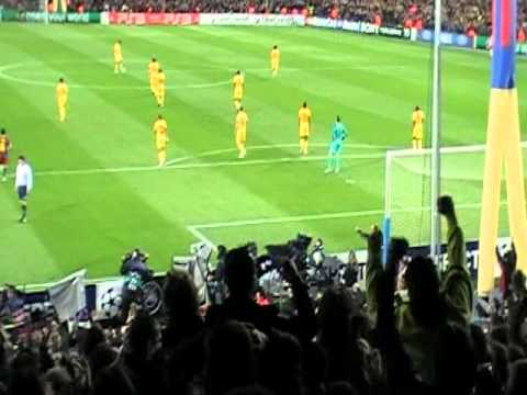 Messi Goal - 3/8/11 vs Arsenal at Camp Nou