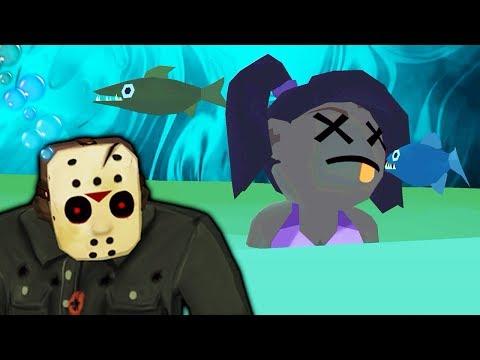 Как Джейсон Вурхиз проводит вечеринку на пляже ПЯТНИЦА 13 мобильная версия хоррор игры от ФГТВ
