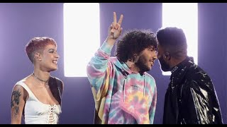 Benny Blanco Halsey Khalid Eastside Amas Performance