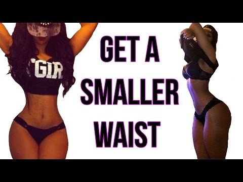 How To Get A Small Waist   4 Workouts That Gives You A TINY Waist!