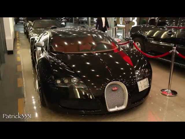 Bugatti Veyron Sang Noir full carbon fibre with water in the tail lights...