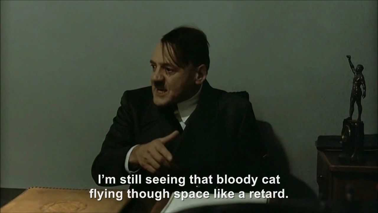Hitler and the Nyan Cat incident