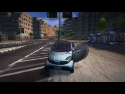 WHEELMAN  Vin Diesel -  game action gameplay trailer bikes cars stunts and crashes galore